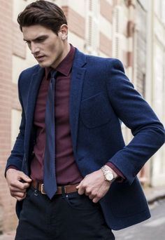 Blue Wool Jacket                                                                                                                                                                                 More