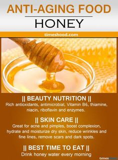 24 Best Anti-Aging Foods for Glowing Skin Honey for wrinkles free skin. Moisturize dry skin and reduce face wrinkles. Anti-aging drink for youthful skin. Best Anti-aging tips. Anti Aging Tips, Best Anti Aging, Food For Glowing Skin, Best Time To Eat, Skin Care Routine For 20s, Comida Latina, Moisturizer For Dry Skin, Natural Health Remedies, Health And Nutrition