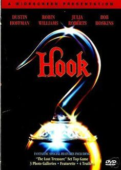 HOOK - Steven Spielberg / Peter Pan - DVD NEW +EXTRAS