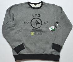 LRG Sweatshirt sizes M, L, or XL #LRG #SweatshirtCrew