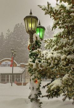 Mountain Snow, Big Bear, California