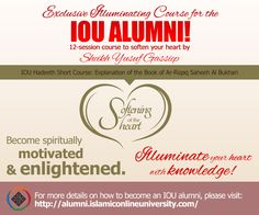 Enroll for this course by subscribing to IOU's Alumni! Short Courses, Free Courses, Islamic Online University, Insight, Connection, How To Become, Knowledge, Wisdom, Student