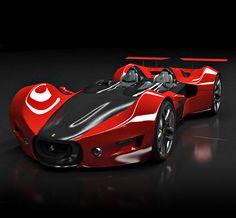 Ferrari Celeritas by Headlines & Heroes, via http://headlinesandheroes.com/rides/ferrari-celeritas/
