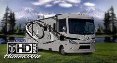 Thor Motor Coach's New HD-MAX Full Color Motorhomes Exteriors - Thousands of Dollars Less Than Full Body Paint with All The Beauty...Look for it at the 2012 Hershey RV Show