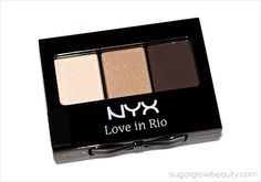 NYX Love in Rio Eye Shadow Palette: valued at $8.00  Ipsy Glam Bag March 2014