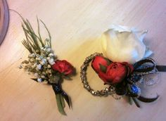 For  my son & his date for prom~ bout & corsage