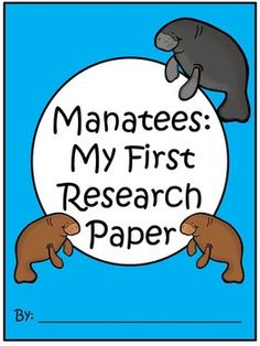 A+ I Can Research Manatees: Writing Paper - Colorful Dreams Kindergarten Nursery List Of Oceans, Reading Books, Books To Read, Writing Lines, Writing Topics, Manatees, Writing About Yourself, Kindergarten Writing, Writing Paper
