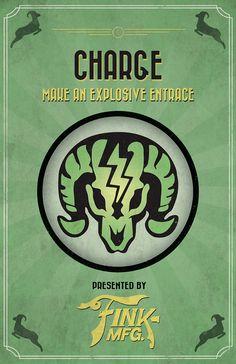 Bioshock Infinite Vigor Poster by Dylan West