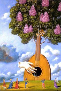 Surreal Paintings by Rafel Olbinski