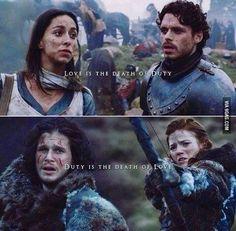 Game of Thrones | Jon Snow & Ygritte | Rob