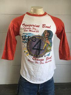 8e8de734 OZZY OSBOURNE Shirt 1982 Vintage EXTREMELy RaRE! 80s Foreigner UFO Bryan  Adams Tangerine Bowl Orlando Miami Orange Bowl Randy Rhoads Medium