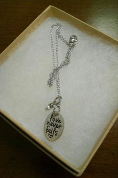 We are excited to have a Valentine gift giveaway this week. Jewelry By Karen has graciously donated a beautiful love never fails necklace for us to giveaway! Be sure to like and share the post this week for a chance to win. Please also like Jewelry by Karen's Facebook page as well! Winner will be announced on Friday, February 8th, 2016. Please like and share this post via our Facebook page to win!