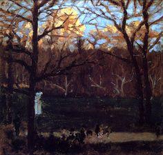 At the Park / Pierre Bonnard - 1900