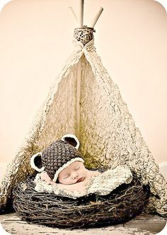 #teepee #newborn session #photography @Angel Ozment Porch