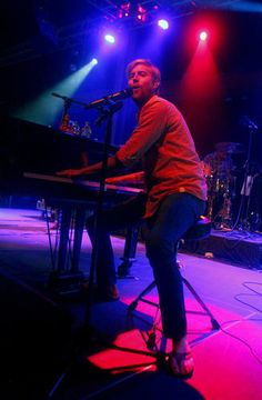 Andrew McMahon's concert this week at Musikfest Café at SteelStacks.