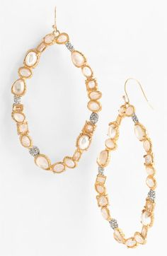 Alexis Bittar 'Elements' Pavé Accent Statement Earrings (Nordstrom Exclusive) available at Nordstrom