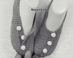 Baby Knitting Patterns, Stitch Patterns, Pearl Necklace, Slippers, Jewelry, Design, Fashion, Shoes, Slippers Crochet