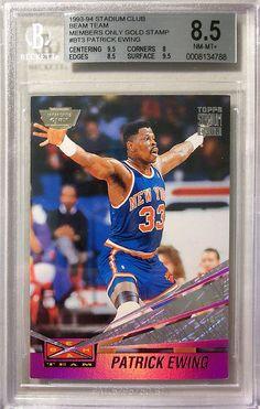64908e3cde6 93-94 Beam Team Members Only Gold Stamp - Michael Jordan Cards Patrick  Ewing