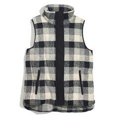 Madewell   Fireside Vest (https://www.madewell.com/madewell_category/ONLINEEXCLUSIVES/jackets/PRDOVR~07906/99103208468/ENE~1+2+218+22+4294967294+216+205~~~0~15~all~mode+matchallany~~~~~plaid%20vest/07906.jsp)