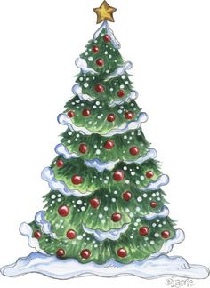outside christmas tree clipart - Clipground christmas santa coloring Christmas Friends, Noel Christmas, Vintage Christmas Cards, Christmas Pictures, Christmas Colors, Christmas Greetings, Winter Christmas, Christmas Crafts, Christmas Decorations