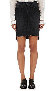 FRAME Le Staggered Miniskirt - Skirts - 504766739
