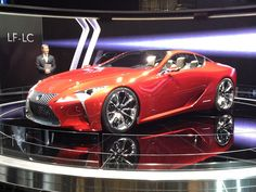 Lexus LF-LC Concept Car at the...