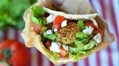 Falafel with Chipotle Tahini Dip Recipe : Ree Drummond : Food Network