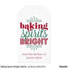 Baking Spirits Bright | Red & Green Holiday