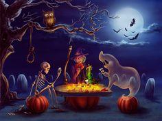 Halloween by qi-art.deviantart.com on @deviantART