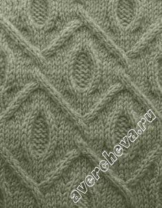 棒针编织花样20 - 编织幸福 - 编много 织幸福的博客