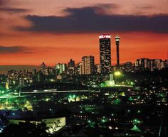 Johannesburg is the largest city in South Africa with over 3 million people. It was founded on the mineral-rich Witwaterstrand Hills and was a major site for the gold trade. Although gold mining no longer occurs inside city limits, many mining companies have HQs in the city.