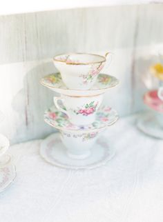 #vintage, #tea-cups  Photography: lanedittoe.com