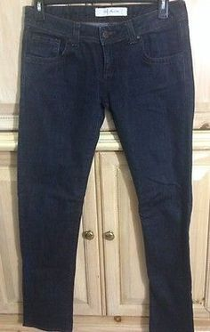 ZARA Denim  By TRF Dark Rinse Blue Jeans  Women's Size 10  32x 34 Straight Leg
