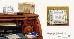diy miniature desk calendar