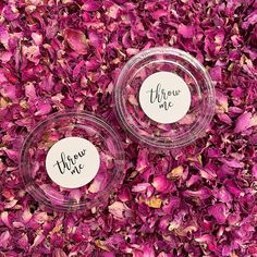 Our pots and stickers are biodegradable. Each pots includes of confetti which is a handful and suitable for one per person.