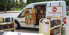 The Book Truck : camión libro que lleva la lectura a los adolescentes de zonas marginales | Universo Abierto Book Cafe, Book Club Books, The Book, Mobile Library, Tiny Shop, Shop Around, Retail Space, Library Books, Shandy