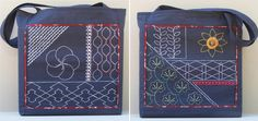 sashiko bags, blogmama