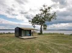 Swedish architect Jonas Wagell began designing the concept of the Mini House several years ago as a weekend retreat or a small guesthouse. The design was simple and similar to a backyard shed. The concept has snowballed, and now he's joined forces with Sommarnöjen and they've created Mini House 2.0.