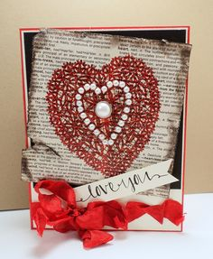 Stamps At Play: Lace Heart