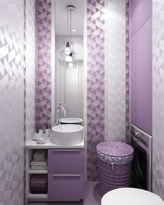 remodel a bathroom is very important for your home. Whether you choose the small bathroom storage ideas or bathroom remodel tips, you will make the best serene bathroom for your own life. Serene Bathroom, Rustic Bathroom Decor, Bathroom Colors, Bathroom Interior, Colorful Bathroom, Small Bathroom Storage, Bathroom Design Small, Purple Bathrooms, Interior Decorating Styles