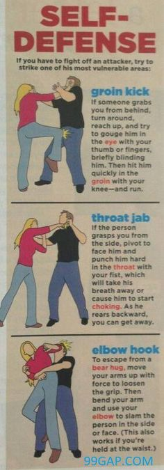 FunnyPictures Of How To Defend Yourself