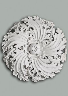Make your 'fifth wall' something to look up to with these gorgeous designs. Here are our favourite plaster ceiling roses to start your search. Plaster Ceiling Rose, Plaster Ceiling Design, Plaster Art, Baroque Tattoo, Crown Molding Kitchen, Victorian Style Homes, Elements Of Style, Ceiling Medallions, White Texture