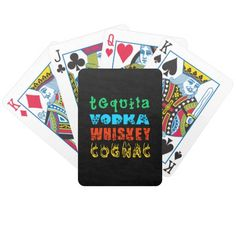 Warming Drinks Bicycle Playing Cards
