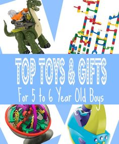 Best Toys Gifts For 5 Year Old Boys In 2013