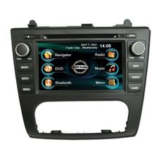 OEM REPLACEMENT IN-DASH RADIO DVD Gps NAVIGATION HEADUNIT FOR NISSAN ALTIMA (AUTO AC) 2007-2012 WITH REAR VIEW CAMERA - http://www.productsforautomotive.com/oem-replacement-in-dash-radio-dvd-gps-navigation-headunit-for-nissan-altima-auto-ac-2007-2012-with-rear-view-camera/