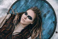 Lagertha Leather Cuirass shieldmaiden costume viking armor | Etsy
