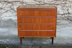 Teak Kommode Chest of Drawers Danish Design in Antiquitäten & Kunst, Design & Stil, 1960-1969 | eBay!