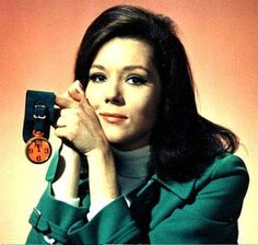 Love, love, love Ms. Emma Peel, one of the very first great role models for women on TV!