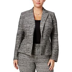 Product review for Rachel Roy Womens Plus Marled Long Sleeve One-Button Blazer.  - Rachel Roy lauched her fashion line in 2005. She inspires women to feel smart, confident individuals with her effortless, elegant and exotic clothing. This Rachel Roy One-Button Blazer is guaranteed authentic. It's crafted with...