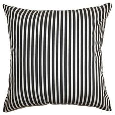Ticking Stripe Throw Pillow - The Pillow Colle-Countion